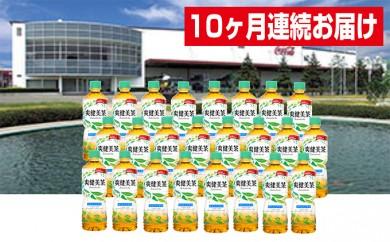 [№5800-0047]【10ヶ月連続お届け】蔵王工場直送 爽健美茶600ml×24本