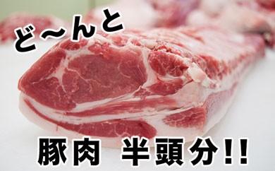東松島産 豚肉半頭分オーダーカット!!