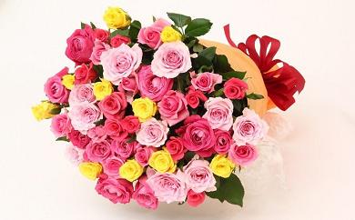 (499)6億円達成記念!限定300セット「バラの花束100本」ギフト用でどうぞ