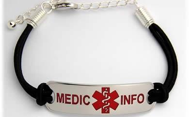 MEDIC INFO CASUAL ブラス  ブレスレット