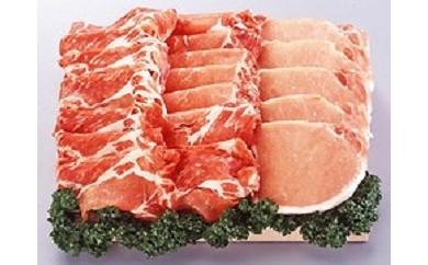 C74-M 「黒豚ロース800g(生姜焼き用400g、とんかつ用80g×5)」、黒豚ラーメン4食」黒豚満腹セット【みろくや秀麺工房厳選】