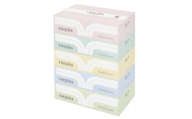 ネピアプレミアムソフトティシュ5箱×12パック