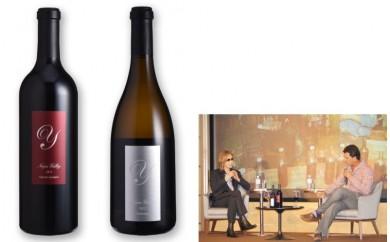 【D09】新作YOSHIKIワイン Napa Valley 赤・白2本セット