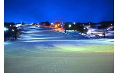 K04160 鳥海高原矢島スキー場リフトシーズン券