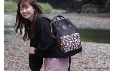 【ムーミン基金限定品】Moomin リュック(ブラック)