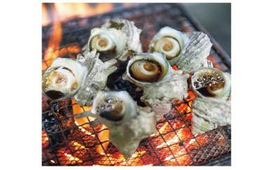 035-01秘伝のタレ サザエのつぼ焼き(6個入り)  1,800pt