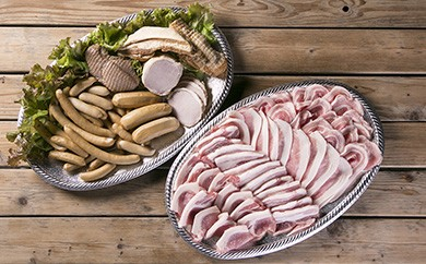 030-005 ドイツ仕込みの無添加ハム&ソーセージ&阿波美豚精肉セットC