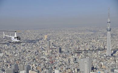 (509)ヘリコプター遊覧「東京」10分コース