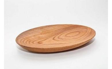 能登里山の木から生まれたパン皿B