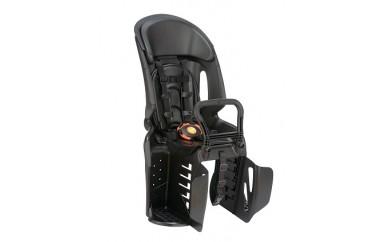 自転車用ヘッドレスト付きコンフォートリヤチャイルドシート ブラック・ブラック RBC-011DX