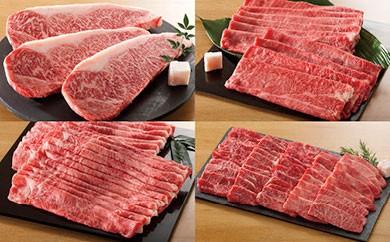 30T027 58L020 飛騨牛食べ比べコース(頒布会/全4回)