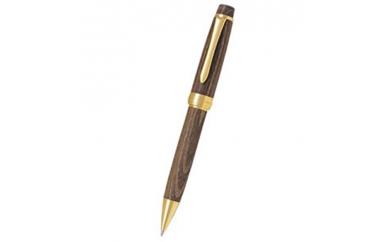 【クレジット限定】AJ08 重厚な木目を感じる槐の木で作った高級ボールペンと大竹和紙のレターセット【200P】