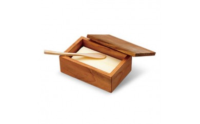 土佐龍から桜バターケース、檜バターナイフセット
