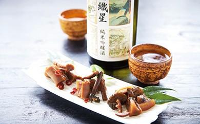 [№5674-0238]歴史をつむぐ割烹家八百善のお漬物と純米吟醸酒セット