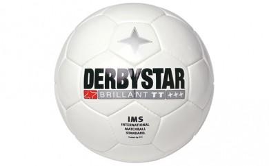 [№5809-0983]蹴るだけで上達するダービースター社のサッカーボール ダービースター Brillant TT (サッカーボール 5号球)