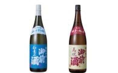 C-01. 御前酒 純米吟醸「如意山」と特別純米「萬悦」