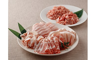 (19)豚肉6品詰合せセット 1.2kg