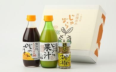 じゃばら果汁&調味料セット