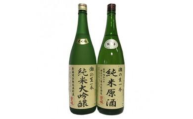 純米大吟醸原酒・純米原酒 さっぱり辛口のみくらべ2本セット【1009577】
