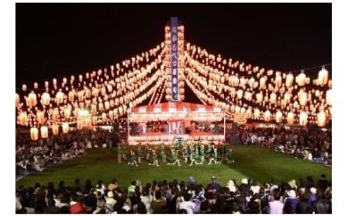 [A-60] 【中標津町】煌めく提灯6,000個!なかしべつ夏まつりを名前入り提灯で飾ろう!