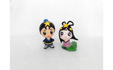 《B1-035》ひこぼしくん&おりひめちゃんペア人形セット