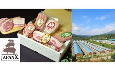 [№5800-0073]宮城蔵王産  牧場直送 JAPAN X堪能コース/計7.2kg