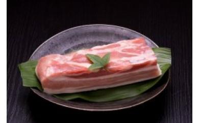 B030【熟成肉】甲州富士桜ポークバラブロック【60pt】