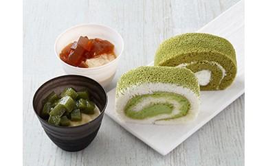 (4)創業明治7年老舗茶園の茶の実スイーツセット