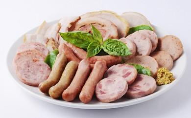 CY01 【長崎県産じげもん豚】を使った無添加ハム・ベーコン入りの燻製セット【90pt】