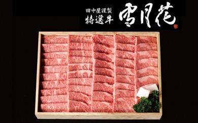 [№5905-0044]A5飛騨牛焼肉用約1kg