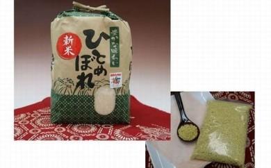 A-89 産直チャグチャグ滝沢産ひとめぼれ(白米)・雑穀セット2
