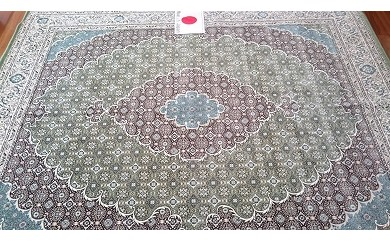 I10 日本製モケット織ラグ【3帖用・オールシーズン・床暖対応】