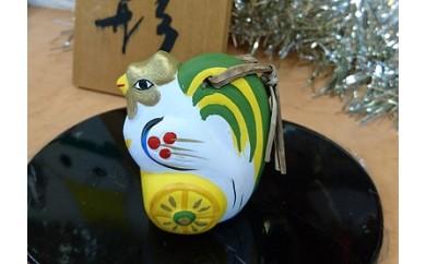 A-3 のごみ人形 新十二支鈴 鶏(小)