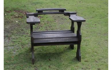 【ダークブラウン】沖縄県やんばる東村で作られた『丈夫な椅子』