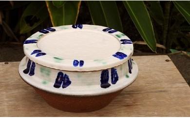 沖縄の伝統工芸 やちむんビビンバ鍋 山河