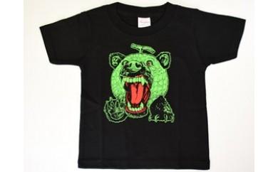 W8 メロン熊 ロックなTシャツ(子ども用)
