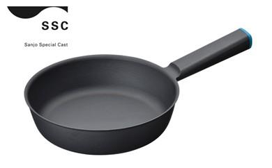 【01-163】SSC 鋳物フライパン20cm ブルー