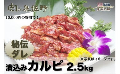 B193 秘伝ダレ漬込みカルピ2.5kg