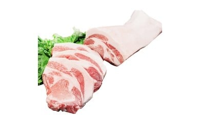 信州飯田のブランド豚「幻豚」 ロース食べ比べ4本セット
