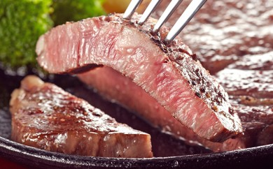 [№5894-0043]北海道美深産 エアリアルビーフのステーキ用 250g×3枚