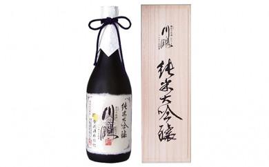 [№5850-0102]川鶴 純米大吟醸 螢流湧水仕込 720ml