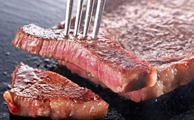 [№5663-0043]【ロース肉ステーキ用】 「いしかわ牛」又は「福島牛」 250g×2枚