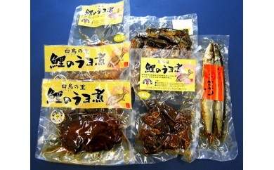 No.018 茨城の郷土料理・甘露煮セット3