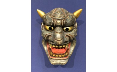 E-6 宮崎県伝統工芸品「椎葉神楽面 鬼神②」