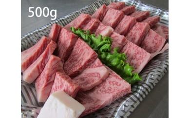 No.076 国産黒毛和牛ロース焼肉 500g