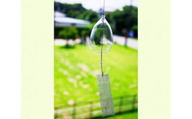 No.031 砂の風鈴 / フウリン ガラス 手作り 千葉県 おすすめ