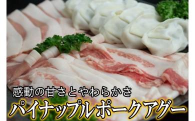パイナップルポークアグー・県産アグー餃子セット