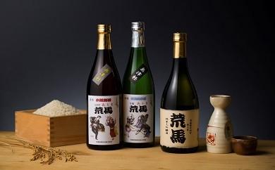日本酒「荒馬」3本セット