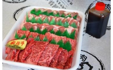 やまちゃん飛騨牛焼肉セット