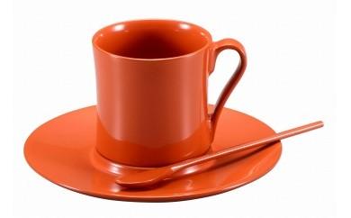 輪島塗 コーヒーカップ(洗朱)
